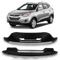 Kit-Overbumper-Parachoque-Hyundai-IX35-2010-2011-2012-2013-2014-2015-Preto-com-Prata